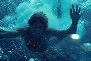 Diver, underwater<br />