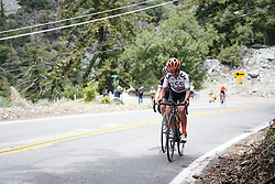 Ashleigh Moolman Pasio (RSA) on the final climb at Amgen Tour of California Women's Race empowered with SRAM 2019 - Stage 2, a 74 km road race from Ontario to Mount Baldy, United States on May 17, 2019. Photo by Sean Robinson/velofocus.com