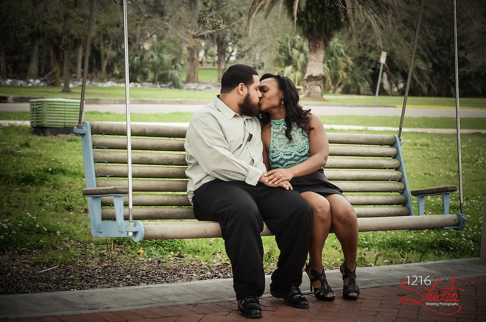 New Orleans Wedding Engagement Session | 1216Studio LLC Weddding Photography