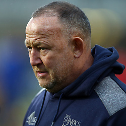 Steve Diamond (Director of Rugby) of Sale Sharks during the Gallagher Premiership match between Bath Rugby and Sale Sharks at the The Recreation Ground Bath England.2nd December 2018,(Photo by Steve Haag Sports)