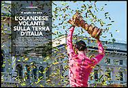 Giro d'Italia 2017, Sportweek RCS.<br /> Sportweek n21 03-06-2017 pag2