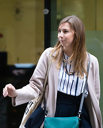 Friend of Kirsty Boden Melanie Schroeder  leaves the Old Bailey In London as the London Bridge terror attack inquest continues. London, May 17 2019.