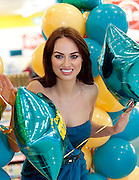 Repro Free: 01/11/2012.Model Daniella Moyles is pictured at the launch of the new Dealz store in Dun Laoghaire, making this the 21st Dealz store to open in Ireland to date.  Situated in Bloomfield Shopping centre, Dealz Dun Laoghaire has created 30 new Irish jobs, brining the total number of jobs created in Ireland to 550. Commenting at the new store opening, Dealz business manager Brendan Doyle said: ?We are very excited to be expanding the Dealz portfolio in Ireland with the opening of our new store in Dun Laoghaire. Dealz is committed to brining amazing value to customers every day and we are looking forward to expanding further across the republic of Ireland. Pic Andres Poveda.
