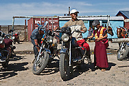 Mongolia. market in  Hahorin -    /  marche de  Karakorum - Mongolie  /  L0009356