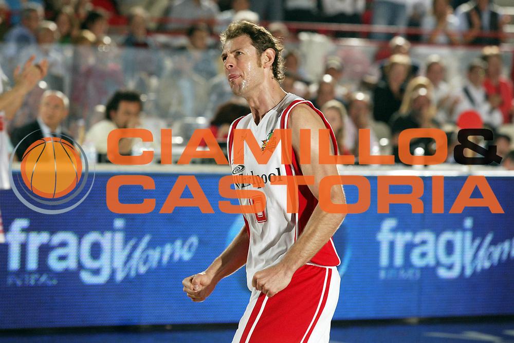 DESCRIZIONE : Varese Lega A1 2006-07 Whirlpool Varese Upea Capo Orlando<br /> GIOCATORE : Galanda<br /> SQUADRA : Whirlpool Varese<br /> EVENTO : Campionato Lega A1 2006-2007 <br /> GARA : Whirlpool Varese Upea Capo Orlando<br /> DATA : 09/05/2007 <br /> CATEGORIA : Esultanza Ritratto<br /> SPORT : Pallacanestro <br /> AUTORE : Agenzia Ciamillo-Castoria/G.Cottini