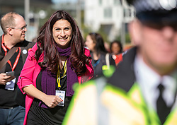 © Licensed to London News Pictures. 24/09/2018. Liverpool, UK. Luciana Berger MP at the Labour Party Conference 2018. Photo credit: Rob Pinney/LNP