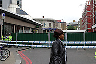 Edgware Road Tube Station, on the 8th of July 2005