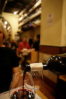 Rome,  In a wine bar. - restaurant (Enoteca) near Piazza Navona.