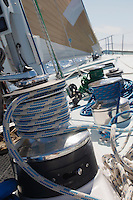Winch on Yacht