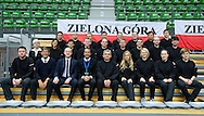 All referees before men's double game while second day of the BNP Paribas Davis Cup 2013 between Poland and South Africa at MOSiR Hall in Zielona Gora on April 06, 2013...Poland, Zielona Gora, April 06, 2013..Picture also available in RAW (NEF) or TIFF format on special request...For editorial use only. Any commercial or promotional use requires permission...Photo by © Adam Nurkiewicz / Mediasport