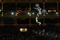 Australian Fmx rider Josh Sheehan during qualifying Red Bull X-Fighters 2016 at Madrid. 22,06,2016. (ALTERPHOTOS/Rodrigo Jimenez)