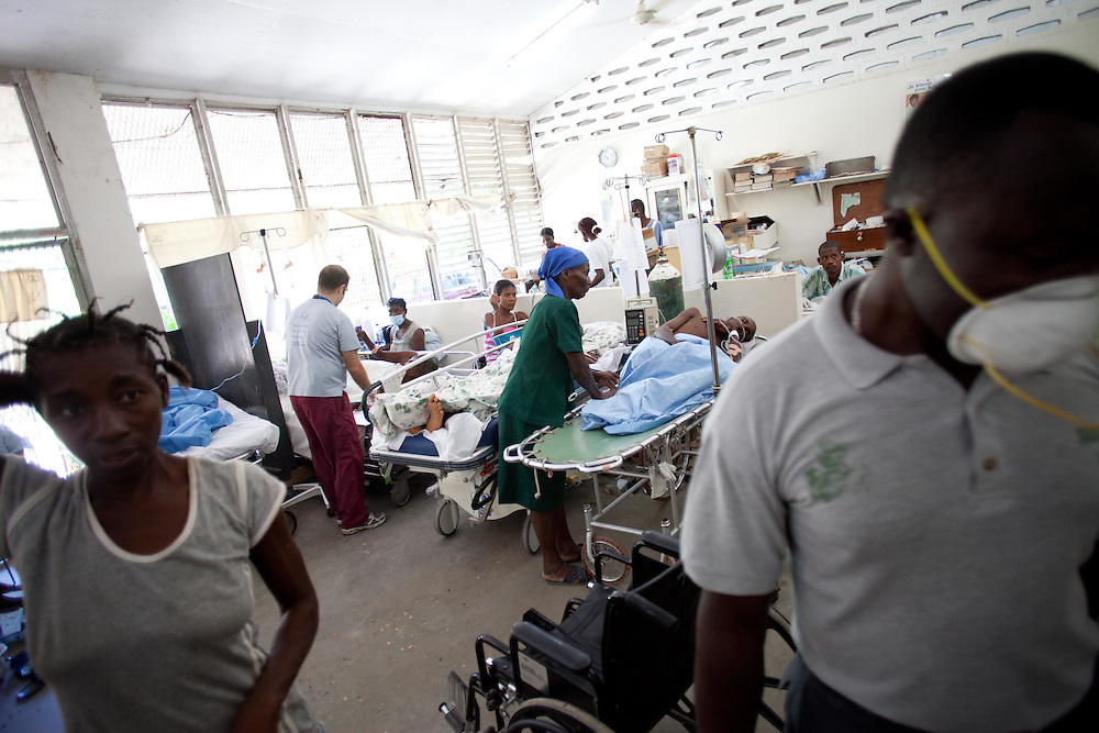 194 people are dead and 2,364 are confirmed to have cholera in the Atibonite and Central departments in Haiti. There are unconfirmed reports of cases in and around Port Au Prince. The Artibonite river is thought to be the source of contamination. The strain of cholera in Haiti is the most deadly. Some victims have died within 3 or 4 hours of exhibiting symptoms.