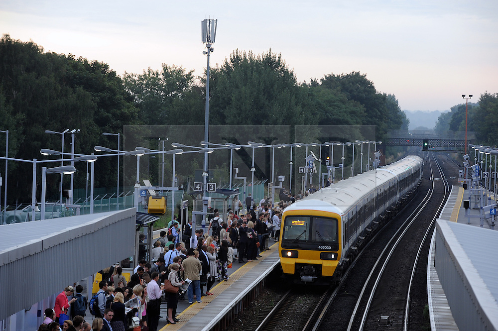 © under license to London News Pictures. 02/01/14. An average 2.8% increase in rail fares comes into effect on Thursday 2nd Jan 2014, pushing the cost of some commuter travel to more than £5,000 a year. FILE PICTURE DATED: 06/09/2013<br />
