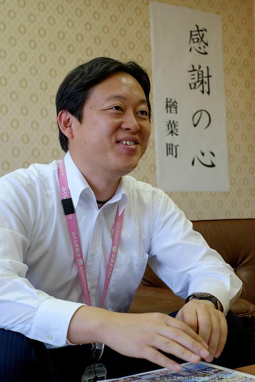 Yusuke IGARI: spokesman for Naraha Town Office