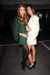 Left to right, ANOUSHKA BECKWITH and Lulu Barsotti at a party to celebrate 150 years of TAG Heuer held at the car park at Selfridge's, London on 15th September 2010.