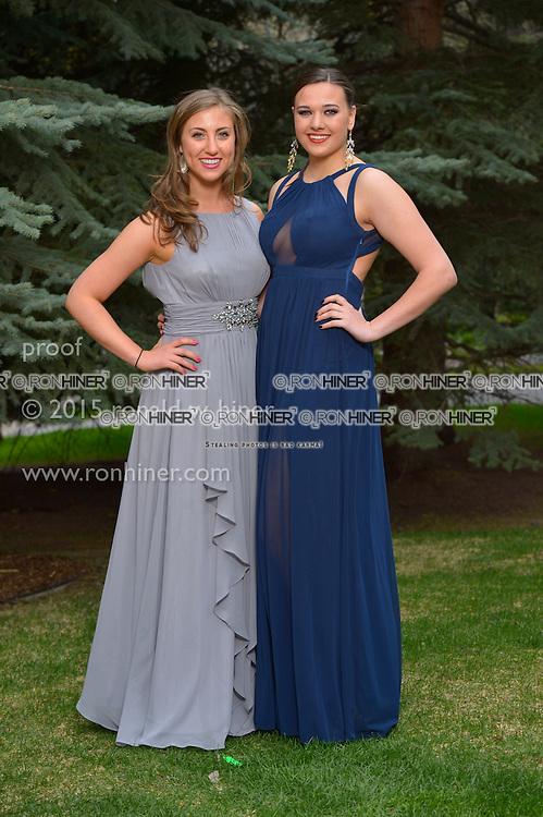 Vail Mountain School Prom Night; Allie Gruber, Lorina Byrne