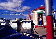 Image of the Teapot Dome Gas Station in Zillah, Washington, Pacific Northwest