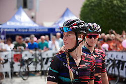 Alice Barnes (GBR) at Giro Rosa 2018 - Stage 10, a 120.3 km road race starting and finishing in Cividale del Friuli, Italy on July 15, 2018. Photo by Sean Robinson/velofocus.com