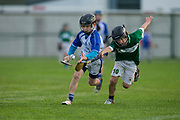 22/10/2016,  Cumann na mBunscol Primary School Finals at Trim.<br /> Game 1_Division 2 Hurling Final: Kilmessan vs Kill<br /> Finn Conroy (Kilmessan NS) & John Gill (Kill NS)<br /> <br /> Photo: David Mullen /www.cyberimages.net / 2016<br /> ISO: 1000; Shutter: 1/1250; Aperture: 4<br /> File Size: 2.7MB<br /> Print Size: 8.6 x 5.8 inches