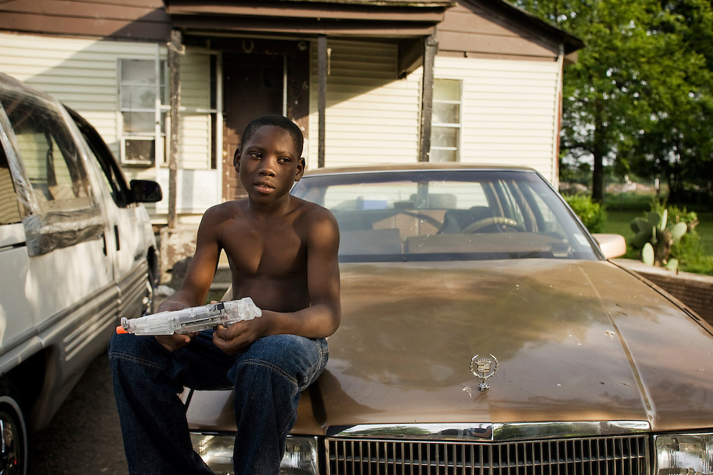 Jimmy Lewis, 11, Clarksdale, Miss., 2007.<br /> Photo by D.L. Anderson