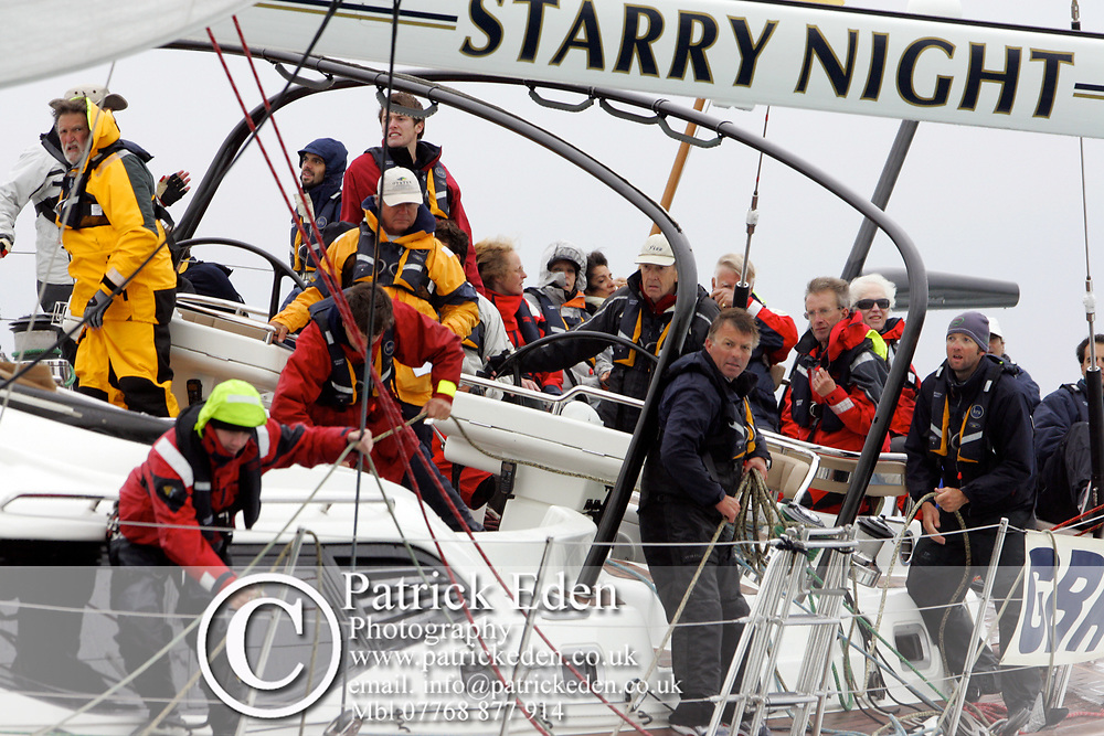 Starry Night,  P Morgan, Round the Island Race, 2011, Cowes, Isle of Wight, Photographs © Patrick Eden