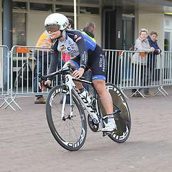 09-04-2016: Wielrennen: Energiewachttour vrouwen: Roden<br />LEEK (NED) wielrennen<br />De vijfde etappe van de Energiewachttour was een individuele tijdrit met start en finish in Leek. EMilie Moberg