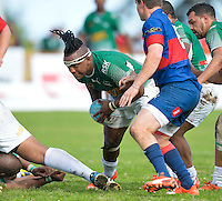 GEORGE, SOUTH AFRICA - SEPTEMBER 24:  during the Gold Cup 2016 match between RSK Evergreens and Pirates at Pacaltsdorp Sports Ground on September 24, 2016 in George, South Africa. (Photo by Roger Sedres/Gallo Images)