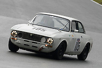 #105 Gary Lyon Alfa Romeo GT2000 2000 during the CSCC Adams and Page Swinging Sixties at Oulton Park, Little Budworth, Cheshire, United Kingdom. October 15 2016. World Copyright Peter Taylor/PSP. <br /> Copy of publication required for printed pictures.  Every used picture is fee-liable. http://archive.petertaylor-photographic.co.uk