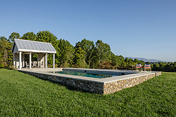 Outdoor Pool at house with Beautiful Peacful View
