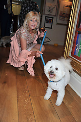 LIZ BREWER at the 10th anniversary of George in association with The Dog's Trust held at George, 87-88 Mount Street, Mayfair, London on 13th September 2011.