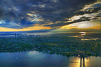 Lake Washington @ Sunset, Seattle