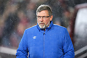 Craig Levein, manager of Heart of Midlothian during the Ladbrokes Scottish Premiership match between Heart of Midlothian and Kilmarnock at Tynecastle Stadium, Gorgie, Scotland on 27 February 2018. Picture by Craig Doyle.