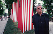 VENICE, ITALY..June 1997..47th Biennale of Venice.Germano Celant, Biennale Director..(Photo by Heimo Aga)