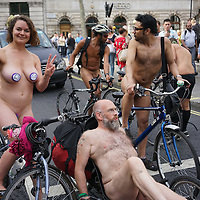 London Naked Bike Ride 2016