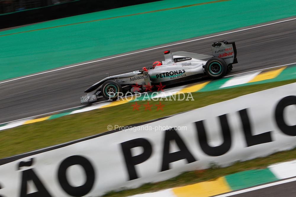 Motorsports / Formula 1: World Championship 2010, GP of Brazil, 03 Michael Schumacher (GER, Mercedes GP Petronas),