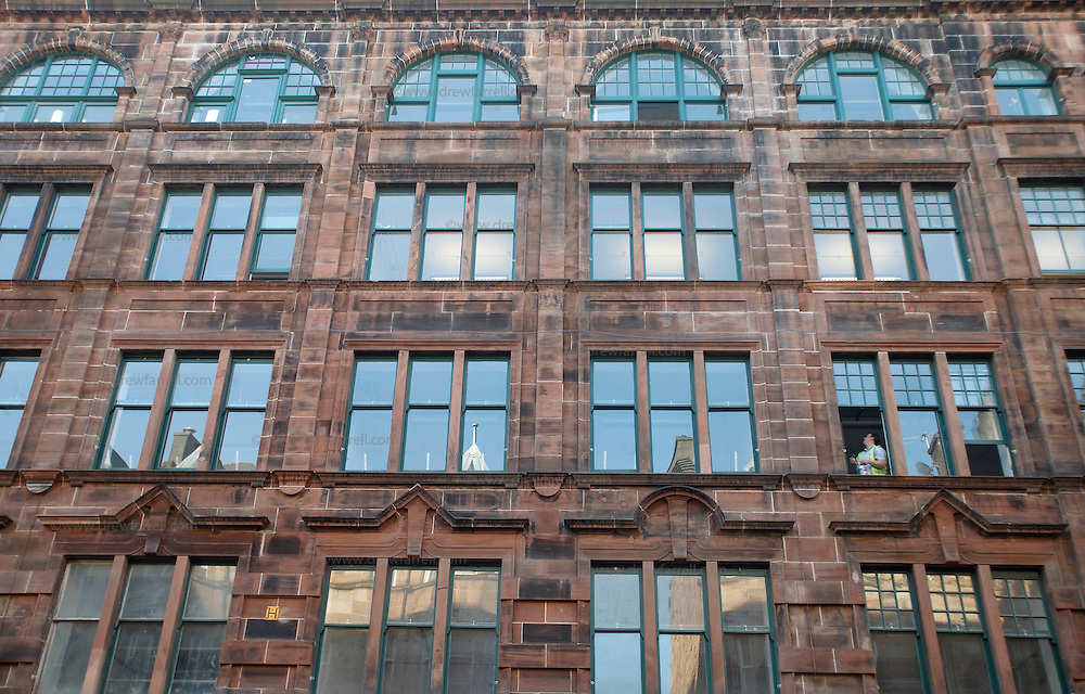 Picture shows : The Trongate 103 Building, King Street. Merchant City Area, Glasgow. Travel guide feature..Picture Drew Farrell. tel : 07721-735041......