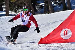 World Cup Banked Slalom, BARATTERO Patrice, FRA at the 2016 IPC Snowboard Europa Cup Finals and World Cup