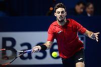 28.10.2016;  Basel; Tennis - Swiss Indoors 2016; Marcel Granollers (ES)<br /> (Steffen Schmidt/freshfocus)