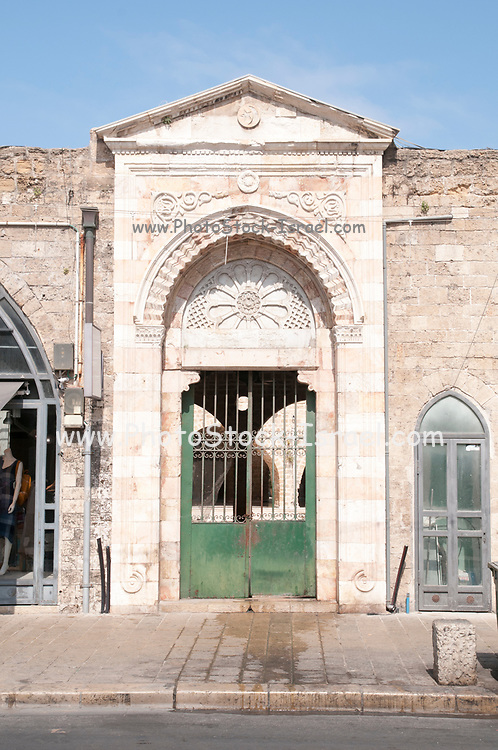 Disused entrance to Muhamidiya mosque (The Great Mosque) Jaffa, Israel
