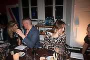 Giles Deacon; Alice Temperley, DINNER TO CELEBRATE THE ARTISTS OF FRIEZE PROJECTS AND THE EMDASH AWARD 2012 hosted by ANDREA DIBELIUS founder EMDASH FOUNDATION, AMANDA SHARP and MATTHEW SLOTOVER founders FRIEZE. THE FORMER CENTRAL ST MARTIN'S SCHOOL OF ART AND DESIGN, SOUTHAMPTON ROW, LONDON WC1. 11 October 2012