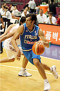 Torneo World Basketball Challenge 2002 Italia-Turchia<br /> gianluca basile