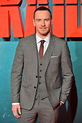© Licensed to London News Pictures. 06/03/2018. London, UK. MICHAEL FASSBENDER arrives for the European film premiere of Tomb Raider in Leicester Square. Photo credit: Ray Tang/LNP