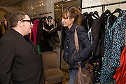 ALBER ELBAZ; SHEHERAZADE GOLDSMITH, The Launch of the Lanvin store on Mount St. Presentation and cocktails.  London. 26 March 2009