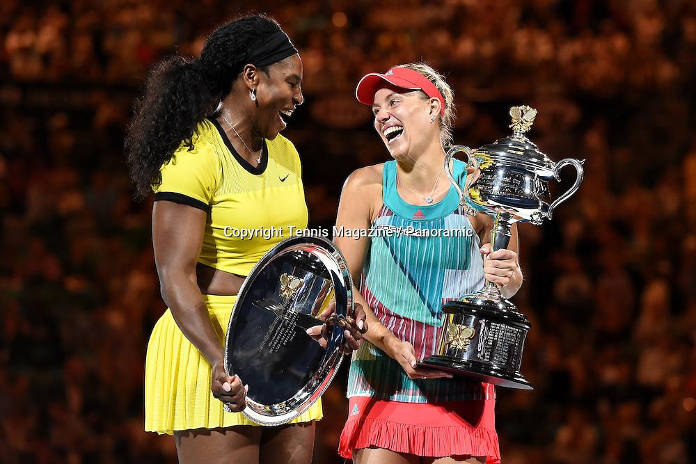 Serena Williams (USA)<br /> Angelique Kerber (GER)