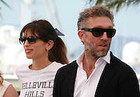 Director Maïwenn and actor Vincent Cassel Mon Roi film photo call at the 68th Cannes Film Festival Sunday May 17th 2015, Cannes, France.
