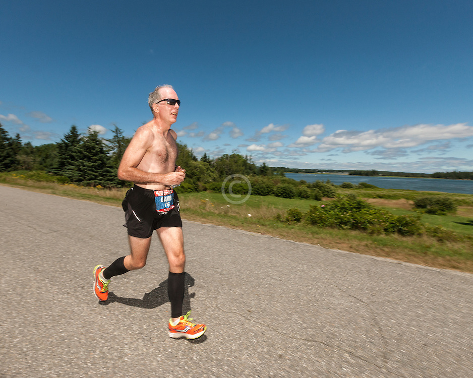 Great Cranberry Island Ultra 50K road race: David Satterthwaite