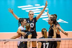 22-08-2017 NED: World Qualifications Belgium - Czech Republic, Rotterdam<br /> Lise Van Hecke #10 of Belgium, Charlotte Leys #6 of Belgium