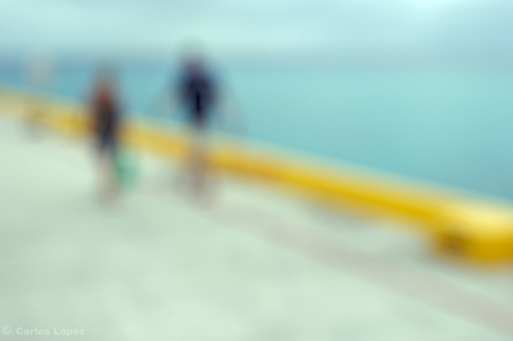 PHOTOGRAPH PART OF THE PROJECT: OTHER WORLD, THAT CONSIST IN BLURRY PICTURES