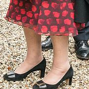 NLD/Hilversum/20180829 -   Prinses Beatrix bij Genootschap van Engelandvaarders, Schoenen Prinses Beatrix
