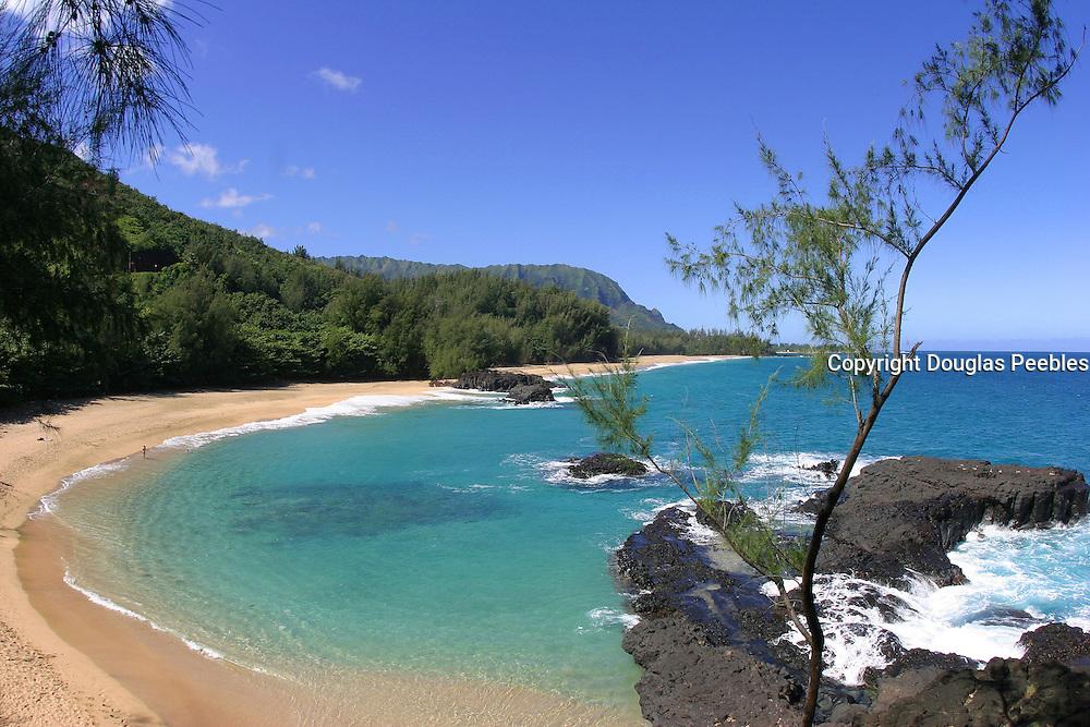 Lumahai Beach, Kauai, Hawaii, USA<br />